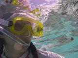 タヒチ旅行の海でハネムーンでの海潜り